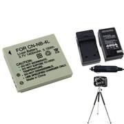 Insten® 361224 4-Piece DV Battery Bundle For PowerShot SD630/SD750/Canon NB-4L