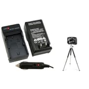 Insten® 361227 2-Piece DV Battery Charger Bundle For Canon BP-508/BP-511/BP-511A/BP-512/BP-514