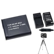 Insten® 361251 3-Piece DV Battery Bundle For Sony NP-BG1/Cyber-Shot DSC-N1/DSC-T100