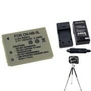 Insten® 361277 4-Piece DV Battery Bundle For PowerShot SD700/SD850/Canon NB-5L