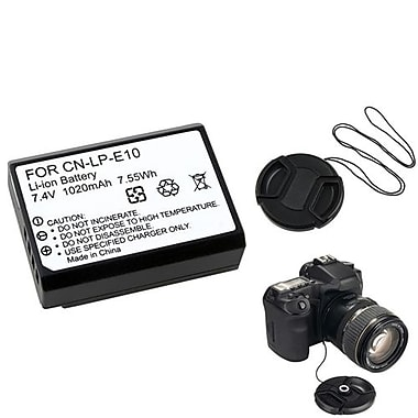 Insten® 369835 3-Piece DV Battery Bundle For Eos Rebel T3