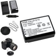 Insten® 369839 5-Piece DV Battery Bundle For Eos Rebel T3/Canon LP-E10