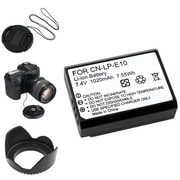 Insten® 369876 5-Piece DV Battery Bundle For Eos Rebel T3/Canon LP-E10