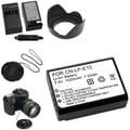 Insten® 369878 5-Piece DV Battery Bundle For Eos Rebel T3/Canon LP-E10