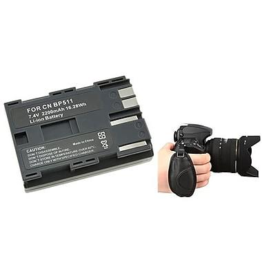 Insten® 377695 3-Piece DV Battery Bundle For Canon BP-511/Nikon/Canon/Pentax/Minolta/Fuji