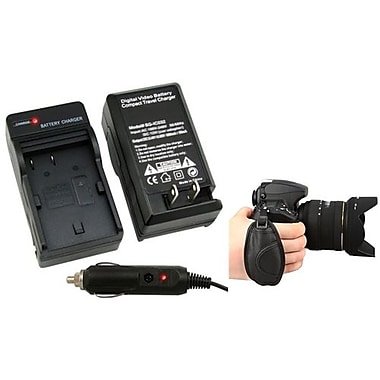 Insten® 377696 2-Piece DV Battery Charger Bundle For Canon BP-508/BP-511/BP-511A/BP-512/BP-514