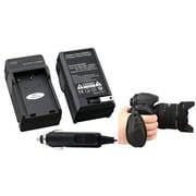 Insten® 377701 2-Piece DV Battery Charger Bundle For Nikon EN-EL9