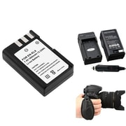 Insten® 377703 4-Piece DV Battery Bundle For D40/D40x/Nikon EN-EL9/Nikon/Canon/Pentax/Minolta/Fuji