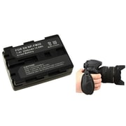 Insten® 377714 2-Piece DV Battery Bundle For Sony NP-FM50/NP-FM30/Nikon/Canon/Pentax/Minolta/Fuji