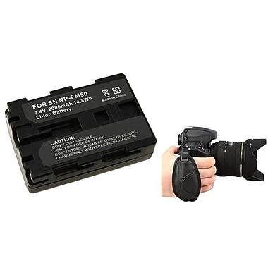 Insten® 377715 3-Piece DV Battery Bundle For Sony NP-FM50/NP-FM30/Nikon/Canon/Pentax/Minolta/Fuji
