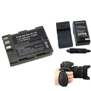 Insten® 377722 4-Piece DV Battery Bundle For D300/Nikon EN-EL3/Nikon/Canon/Pentax/Minolta/Fuji