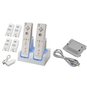 Insten® 385099 2-Piece Game Battery Bundle For Nintendo Wii