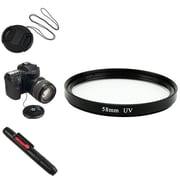 Insten® 385955 4-Piece DV Cap Bundle For 58 mm Filters/Adapters/Lens