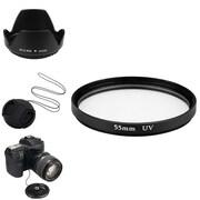 Insten® 385971 4-Piece DV Cap Bundle For 55 mm Filters/Adapters/Lens