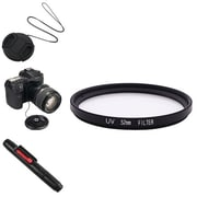 Insten® 385994 4-Piece DV Cap Bundle For 52 mm Filters/Adapters/Lens
