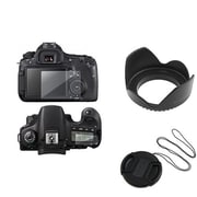 Insten® 386770 3-Piece DV Cap Bundle For 58 mm Lens and Filters/Canon EOS 60D