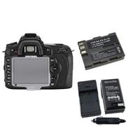 Insten® 392591 3-Piece DV Battery Bundle For Nikon D90/D300/Nikon EN-EL3