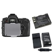 Insten® 392592 4-Piece DV Battery Bundle For Nikon D90/D300/Nikon EN-EL3