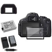 Insten® 393482 4-Piece DV Battery Bundle For Canon EOS 600D/Canon/EOS Rebel T2i/Canon LP-E8