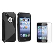 Insten® 414114 2-Piece iPhone Screen Protector Bundle For iPhone 3G/3GS
