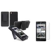 Insten® 418608 2-Piece Holster Bundle For Motorola Droid X2