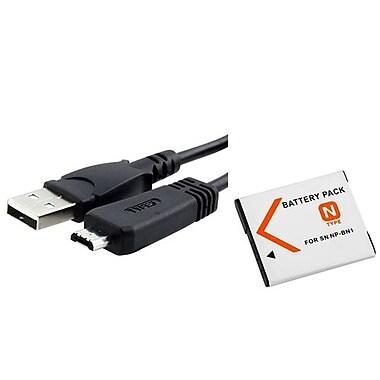 Insten® 429534 3-Piece DV Battery Bundle For Sony NP-BN1/Cyber-Shot DSC-TX30/Sony VMC-MD3