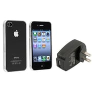 Insten® 430667 2-Piece iPhone Case Bundle For Apple iPhone 4 AT&T/Verizon/iPhone 4S