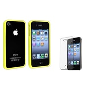 Insten® 452700 2-Piece iPhone Case Bundle For Apple iPhone 4/4S