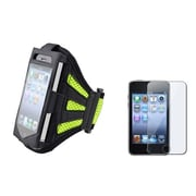 Insten® 480602 2-Piece MP3 Armband Bundle For Apple iPod Touch 2nd/3rd Gen/Cell Phone/MP3 Player