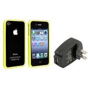 Insten® 481389 2-Piece iPhone Case Bundle For Apple iPhone 4/4S