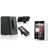 Insten® 486884 2-Piece Holster Bundle For Motorola Droid Bionic XT875