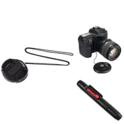Insten® 498030 3-Piece DV Cap Bundle For 37 mm Lens and Filters