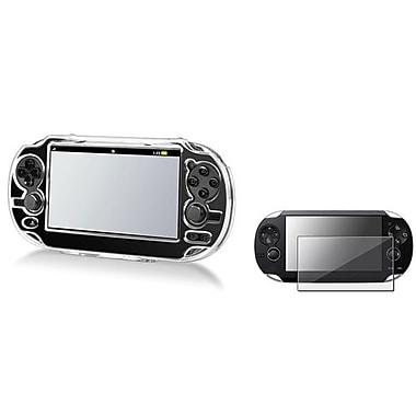 Insten® 498544 2-Piece Game Case Bundle For Sony PlayStation Vita/Vita 2000