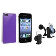 Insten® 503887 2-Piece iPhone Case Bundle For Apple iPhone 4/4S