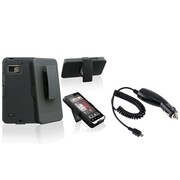 Insten® 504832 2-Piece Car Charger Bundle For Motorola Droid Bionic XT875