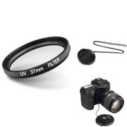 Insten® 507099 3-Piece DV Cap Bundle For 37 mm Lens and Filters/SLR Cameras
