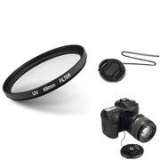 Insten® 507101 3-Piece DV Cap Bundle For 49 mm Lens and Filters/SLR Cameras