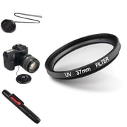 Insten® 507105 4-Piece DV Cap Bundle For 37 mm Filters/Adapters/Lens