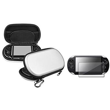 Insten® 523505 2-Piece Game Case Bundle For Sony PlayStation Vita/Vita 2000