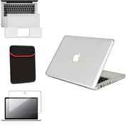 Insten® 529123 4-Piece MacBook Case Bundle For Apple MacBook Pro 13.3""