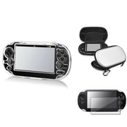 Insten® 547842 3-Piece Game Case Bundle For Sony PlayStation Vita/Vita 2000