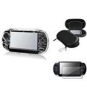 Insten® 547844 3-Piece Game Case Bundle For Sony PlayStation Vita/Vita 2000