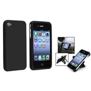 Insten® 561840 2-Piece iPhone Phone Holder Bundle For iPhone 4/4S
