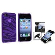 Insten® 562086 2-Piece iPhone Phone Holder Bundle For iPhone 4/4S