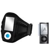 Insten® 562111 2-Piece MP3 Armband Bundle For Apple iPod Nano 5th Gen