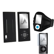Insten® 566559 3-Piece MP3 Armband Bundle For Apple iPod Nano 5th Gen