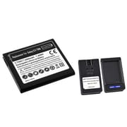 Insten® 573198 2-Piece Battery Bundle For Samsung Galaxy S2 Hercules SGH-T989