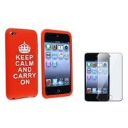 Insten® 585793 2-Piece MP3 Case Bundle For Apple iPod Touch 4th Gen