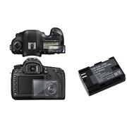 Insten® 637952 3-Piece DV Battery Bundle For Canon LP-E6/Canon EOS 5D Mark III