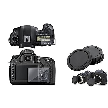 Insten® 661091 2-Piece DV Cap Bundle For Canon EOS 5D Mark III
